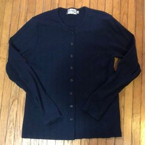 Tops - (2 for 25$) Navy blue cardigan